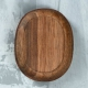 Wooden stand 60х50х15 mm, walnut (1111543)