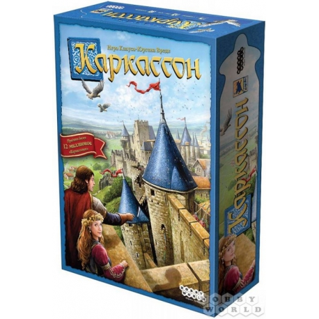 Board Game: Carcassonne (2019) 915138