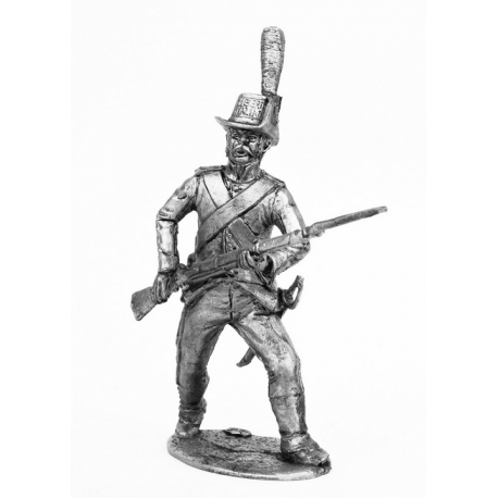Private light infantry of the Lombardy Legion, 1796-97 (661)