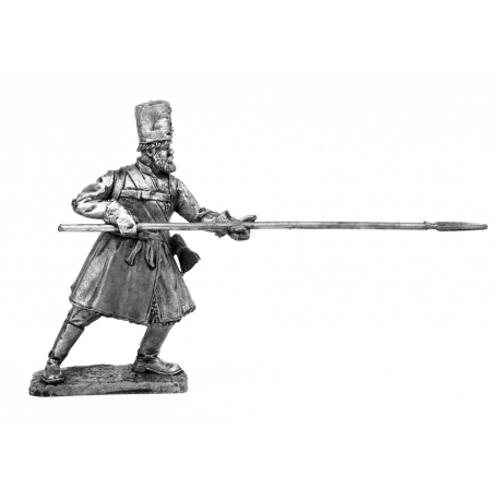 Private warrior of the Moscow militia (668)
