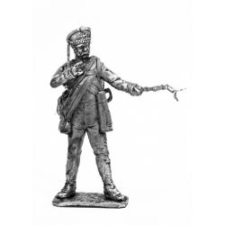 Артиллерист гвардейской пешей артиллерии, с пальником, 1812 г. (675)