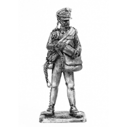 Артиллерист гвардейской пешей артиллерии, с зарядной сумкой, 1812 г. (676)