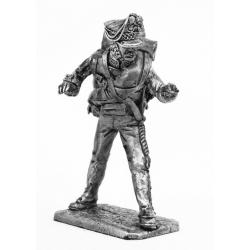 Артиллерист гвардейской пешей артиллерии, наводчик, 1812 г. (677)