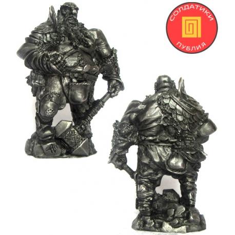 The Dwarf Veteran Mercenary (PR-54013)