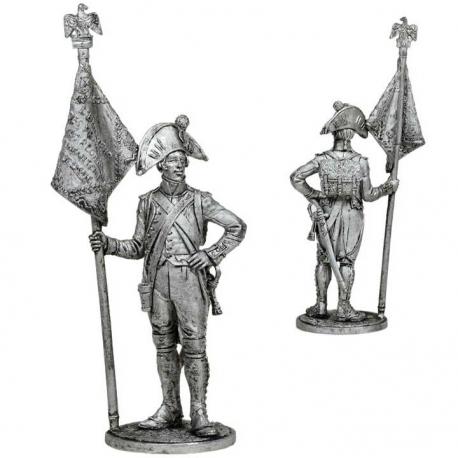 Senior sergeant of the 4th Line Regiment. France, 1805 (NAP-76)