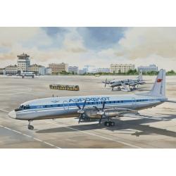 1/144 Пассажирский авиалайнер Ил-18В (14466)