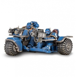 Space Marine Attack Bike (48-20)