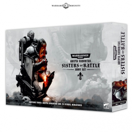 ADEPTA SORORITAS: SISTERS OF BATTLE ENG (52-04-60)