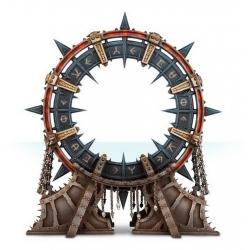"CHAOS SPACE MARINES NOCTILITH CROWN ""Набор игрового ландшафта: Космодесант Хаоса - Ноктилитовая корона"" (43-70)"
