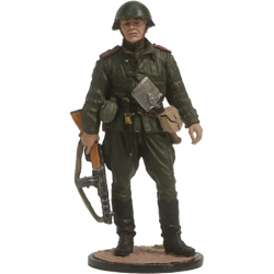 Senior sergeant of Infantry of the Red Army. USSR, 1943-45. Painted (WWII-1)