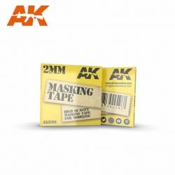 AK Interactive MASKING TAPE: 2MM / Маскирующая лента (AK-8201)
