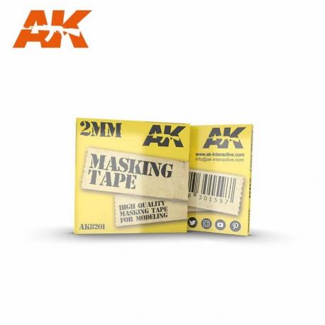 AK Interactive MASKING TAPE: 2MM (AK-8201)