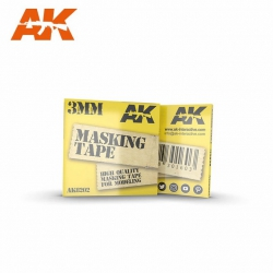 AK Interactive MASKING TAPE: 3MM / Маскирующая лента (AK-8202)