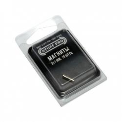 Магниты STUFF-PRO для миниатюр (10 штук, 3х1 мм) 231356