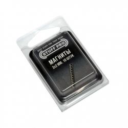 Магниты STUFF-PRO для миниатюр (10 штук, 3х2 мм) 231357