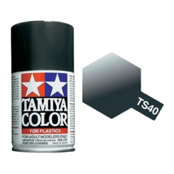 TS-40 Metallic Black - 100ml Spray Can (85040)