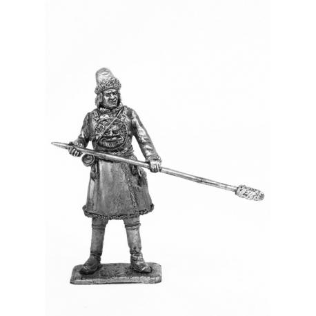 Артиллерист. Россия, 1700 г. (700)