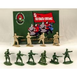 Красная армия. 10 фигур
