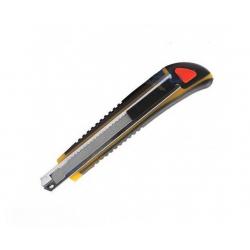 Jas Нож выдвижной с противоскользящей рукояткой, автоматическая замена и фиксация лезвия (4052)