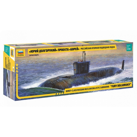 Borey-class Russian Nuclear ballistic submarine Yury Dolgorukiy (9061)