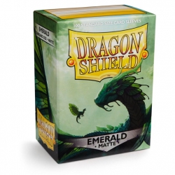 Dragon Shield protectors frosted emerald Rayalda (100 pcs.) (AT-11036)