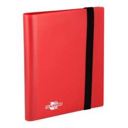 Blackfire Album with 20 2x2 Embedded Sheets - Flexible Red (BFA0403)