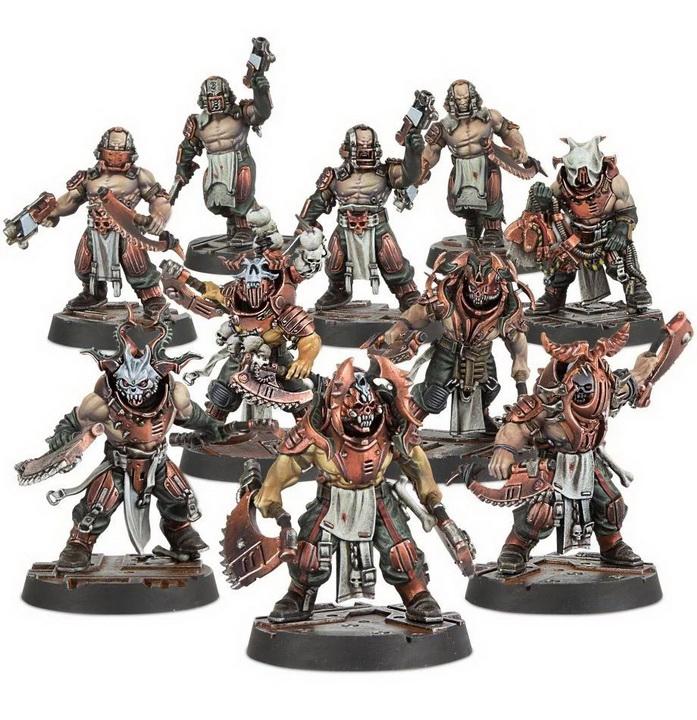 Corpse Grinder Gang Cards Necromunda Games Workshop Warhammer 40,000