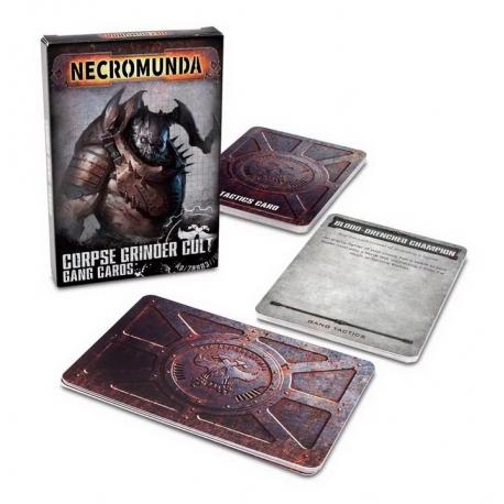 NECROMUNDA: CORPSE GRINDER GANG CARDS (300-51)