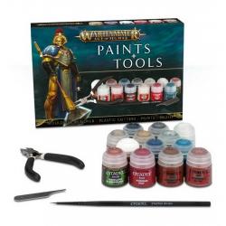 Warhammer Age of Sigmar Paints & Tools Set (Набор инструментов и красок Эра Сигмара) 80-17-60