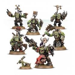 ORKS WARBOSS GRUKKS BOSS MOB (Боевой босс орков Грукк и его банда) 50-33