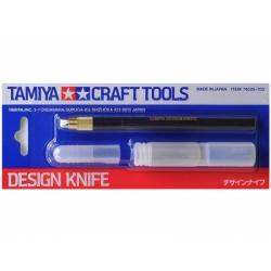 Дизайнерский нож с 30 дополнительными лезвиями (74020)