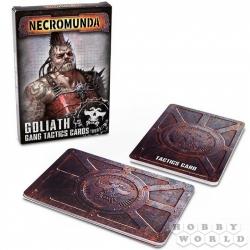 NECROMUNDA: GOLIATH GANG TACTICS CARD (Некромунда: Тактические карты банды Голиаф) 300-06