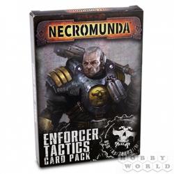 NECROMUNDA ENFORCER TACTICS CARD PACK (Некромунда: тактики энфорсеров) 300-42