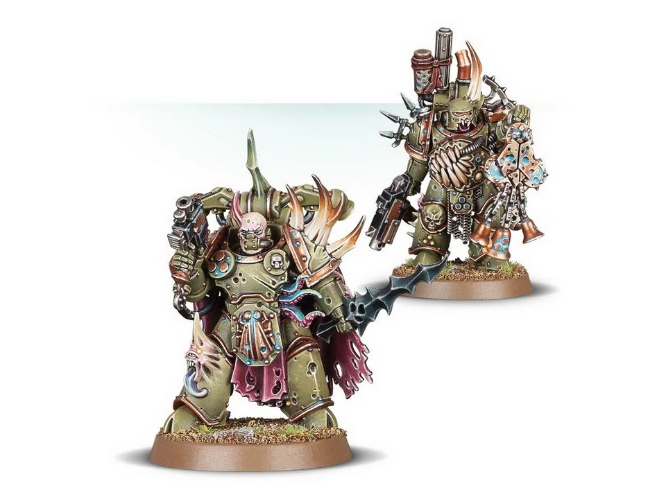 Plague Marines Death Guard Chaos Space Marines 40k Warhammer in Champion Blight