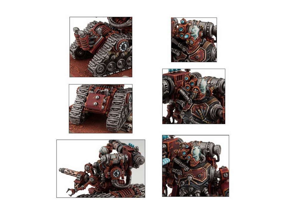 Warhammer 40K Adeptus Mechanicus Kataphron Battle Servitors 59-14