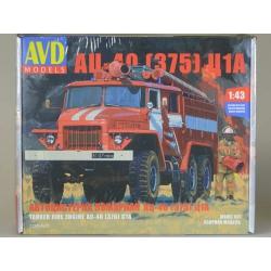 1/43 Пожарная цистерна АЦ-40(375)Ц1А (1298AVD)