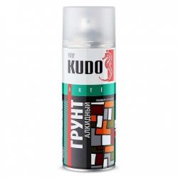 Грунтовка KUDO белый универсальный алкидный, 520мл (KU2004)