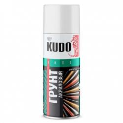 KUDO Грунт белый универсальный акриловый, 520мл (KU2104)