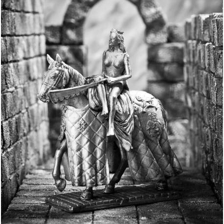 Lady Godiva on horseback (K47)