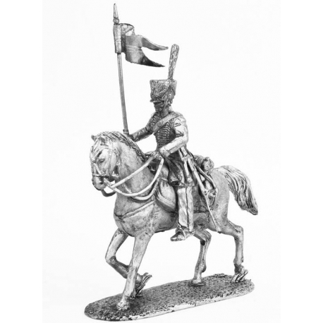Cossack of the 1st mounted Death Regiment of the St. Petersburg militia, 1812-14 (K49)