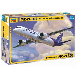 Пассажирский Авиалайнер МС-21-300 (7033)