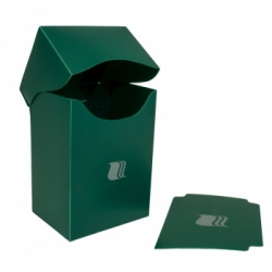 Plastic box Blackfire - Green (80+ cards) BDH_V8005