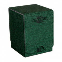 Blackfire Convertible Premium Deck Box Single Vertical 100+ Standard Size Cards - Green (403297)