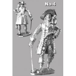 Пират 17 век. Капитан Барбосса!