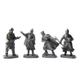 Крестовые походы: Полководцы с оруженосцами