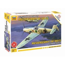 German fighter Meserschmitt BF-109F-2 (7302)