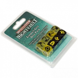 WHU: ZARBAG'S GITZ DICE SET (110-43)