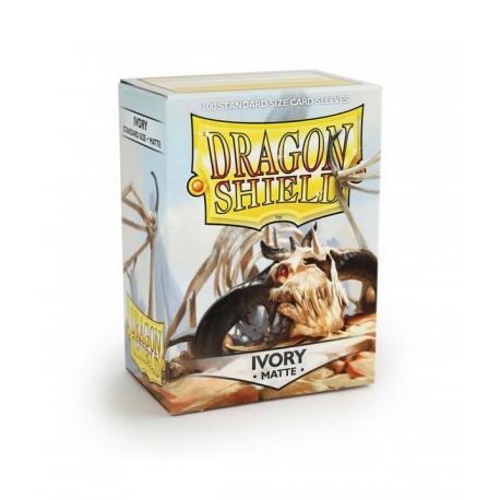 Dragon Shield protectors Ivory (100 pcs.) (AT-110)