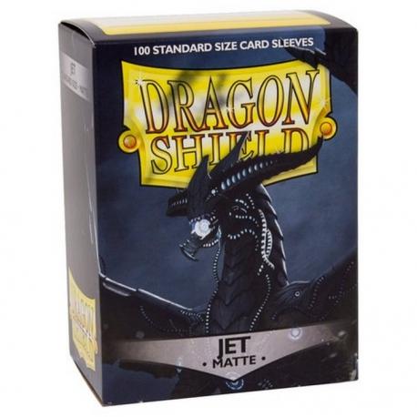 Dragon Shield protectors Jet (100 pcs.) (AT-110)