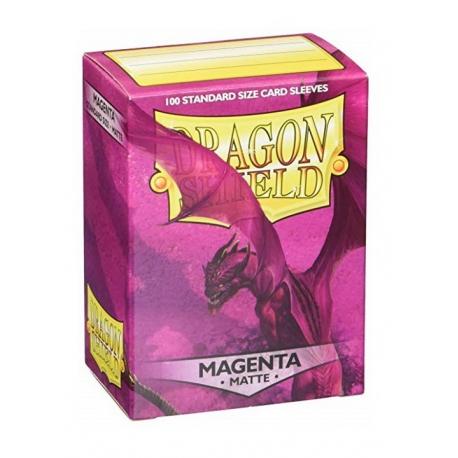 Dragon Shield protectors Magenta (100 pcs.) (AT-110)